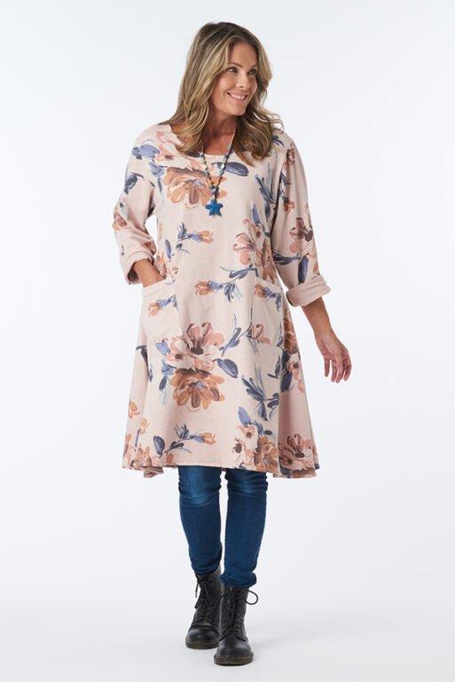ROSA FLOWER DRESS